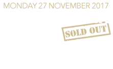 SOLD OUT: Monday 27 November 2017 - The Water Rats, London With Special Guest Steve Harley